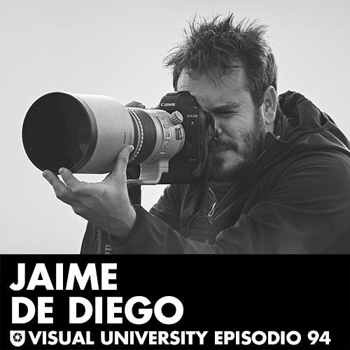 Carátula del episodio especial en directo con Jaime de Diego