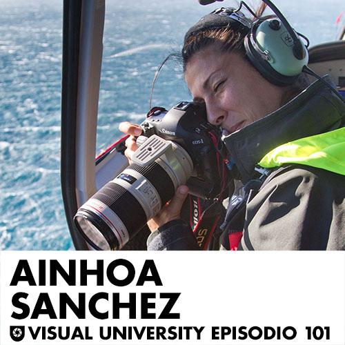 Carátula del episodio 101 con Ainhoa Sánchez
