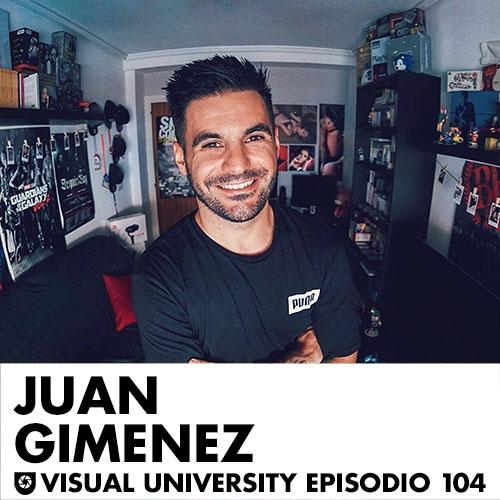 Carátula del episodio con Juan Giménez
