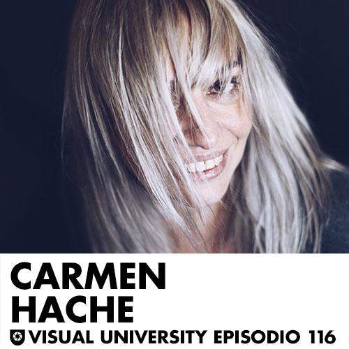 Carátula del episodio con Carmen Hache