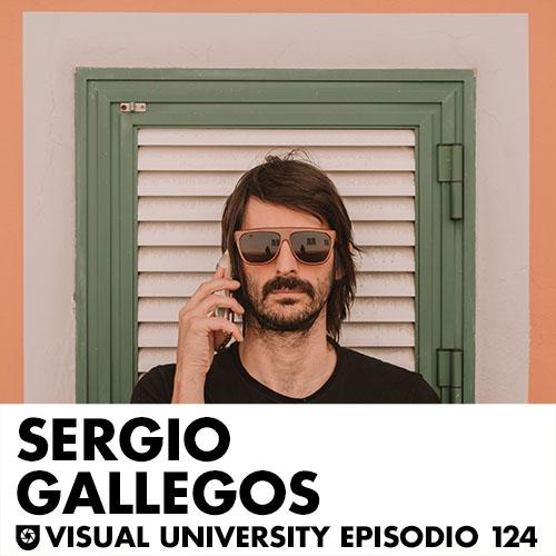 Carátula del episodio con Sergio Gallegos