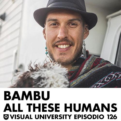 Carátula del episodio con Bambú de All These Humans