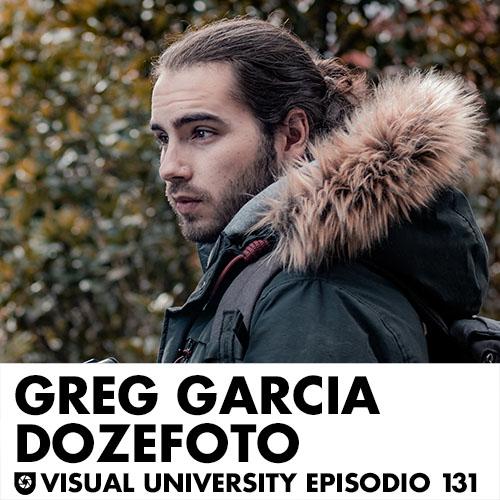 Carátula del episodio con Greg García, más conocido como Dozefoto