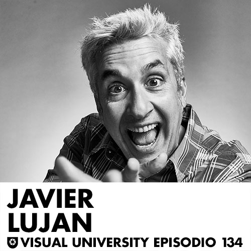Carátula del episodio con Javier Luján