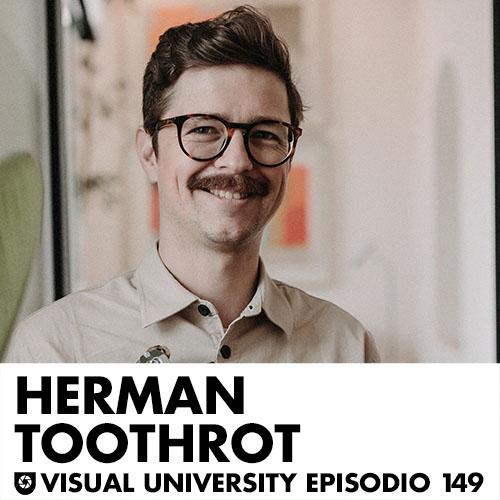 Carátula del episodio con Herman Toothrot